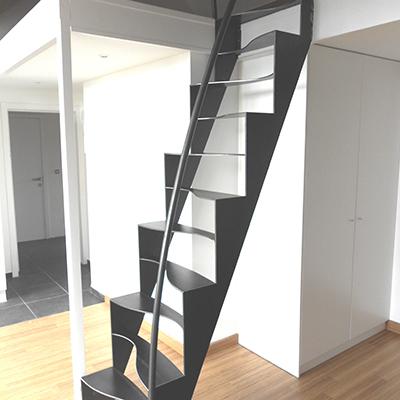 Ferronnerie à Namur - Escaliers intérieurs et extérieurs